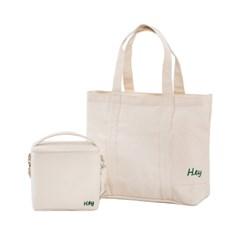 맘스 캔버스(기저귀)수납 가방+보온보냉가방 세트