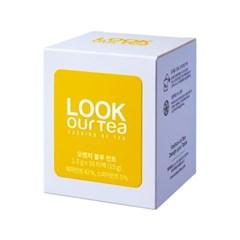 [룩아워티] 허브차/오렌지 블루 민트 10티백