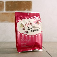 행복한 쇼콜라띠에 코인초콜릿 딸기 100g_(1167215)