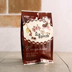 행복한 쇼콜라띠에 코인초콜릿 밀크 100g_(1167213)