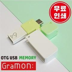 5핀, c타입 OTG USB 그라몬 128GB