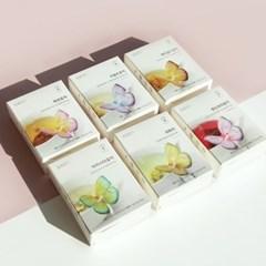 [꽃을담다] 꽃차 나비티백(3개입) 6종모음