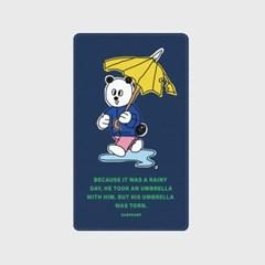 [어프어프]Rain panda-navy 보조배터리 mah2500/mah5000