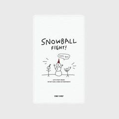 [어프어프]Snow ball-white 보조배터리 mah2500/mah5000