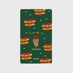 [어프어프]bear cookie-green 보조배터리 mah2500/mah5000
