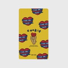 [어프어프]bear cookie-yellow 보조배터리 mah2500/mah5000