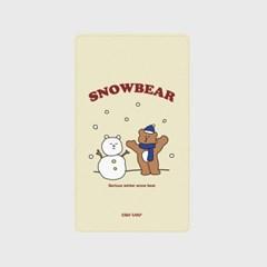 [어프어프]Snow bear-Ivory 보조배터리 mah2500/mah5000