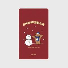 [어프어프]Snow bear-wine 보조배터리 mah2500/mah5000