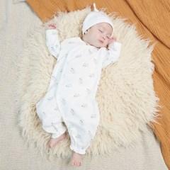 오가닉 바바 슈트형 보낭 + 신생모 2종세트