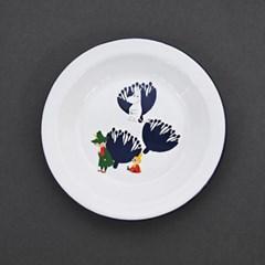 무민 법랑 접시(소 18cm)