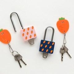 핑크풋 자물쇠(열쇠형)