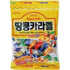 문구사무/땅콩카라멜(140g×2EA/크라운)