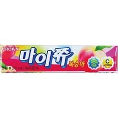 문구사무/마이쮸(15개/복숭아/크라운제과)