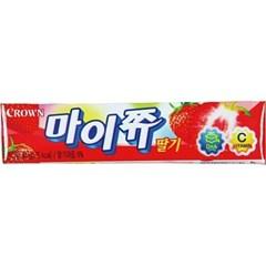 문구사무/마이쮸(15개/딸기/크라운제과)