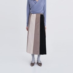 three-stage lap skirt (2colors)
