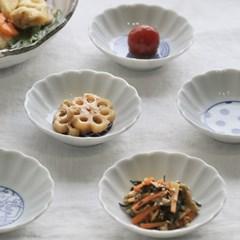 일본 하토우 화이트 콩접시 1P