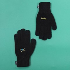 SPACE UNIT SMART GLOVES (BLACK)_(400900030)