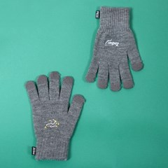 SPACE UNIT SMART GLOVES (GREY)