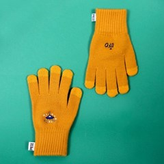 SPACE UNIT SMART GLOVES (MUSTARD)_(400900026)