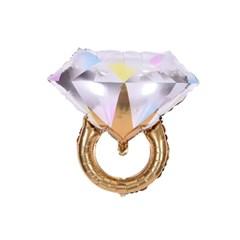 [브라이덜샤워 파티용품] 빅다이아몬드 링풍선