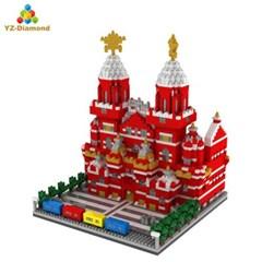 YZ067 나노블럭 유명건축물 붉은광장