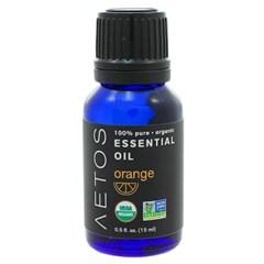 [세븐허브] Aetos 유기농 오렌지 에센셜 오일 14.8ml