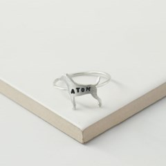 [Silhouette] Italian greyhound ring