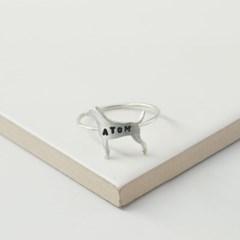[Silhouette] Italian greyhound ring