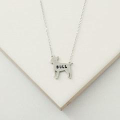 [Silhouette] Bullterrier necklace