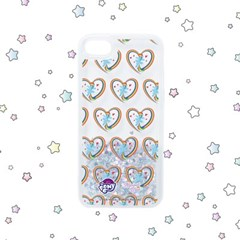[MY LITTLE PONY X ALMOST BLUE] RAINBOW DASH PATTERN GLITTER CASE