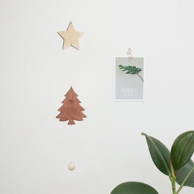 [위크앤드] 인테리어 우드 트리 모빌_tree