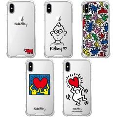 스키누 x Keith Haring 투명케이스