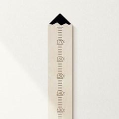 [위크앤드] 원목 키재기 자_연필