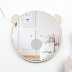 [위크앤드] 원목 아크릴 안전 거울-베어베어