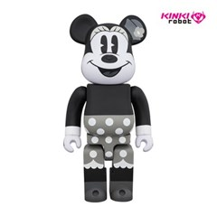 [KINKI ROBOT]400%BEARBRICK MINNIE MOUSE B&W (1812010)
