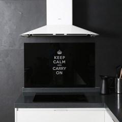 아트보드_ keep calm_블랙