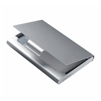 CARD BOX - silver (LD14)