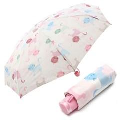 VOGUE 5단 수동 우산 - 낭만고양이