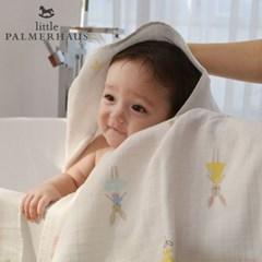 테리파머 토토리_레빗돌 양면 아기목욕타올 1장 신생아목욕수건