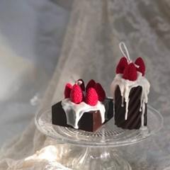 딸기 초코 크림 캔들