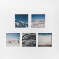 Invisible moment #SAPPORO serise post card