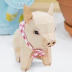 아기 돼지 만들기 (DIY Papercraft)