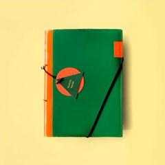피키트 다이어리 케미커버 _ Orange Green