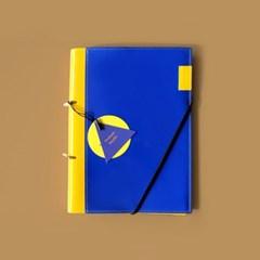 피키트 다이어리 케미커버 _ Yellow Blue