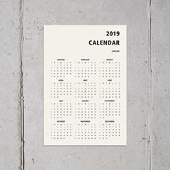 2019 심플 365 캘린더_(1681645)