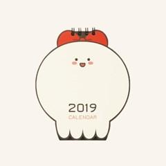 모우모우 2019 탁상달력