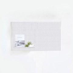 에코DIY 인테리어 타공판 400X600 화이트