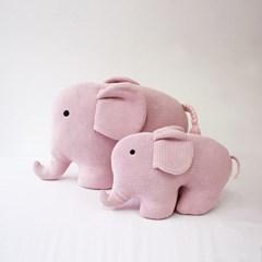 코끼리 쿠션.인형 pink