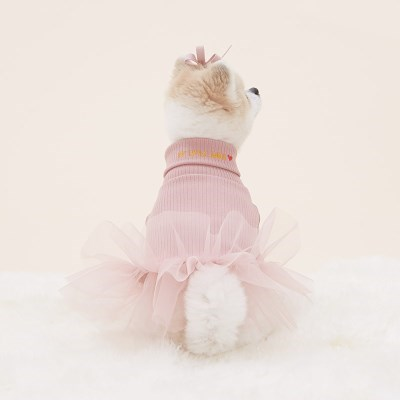 반달펫 리틀엔젤 드레스(pink)