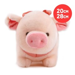 해피피그_중/대형-[옵션선택]/돼지인형